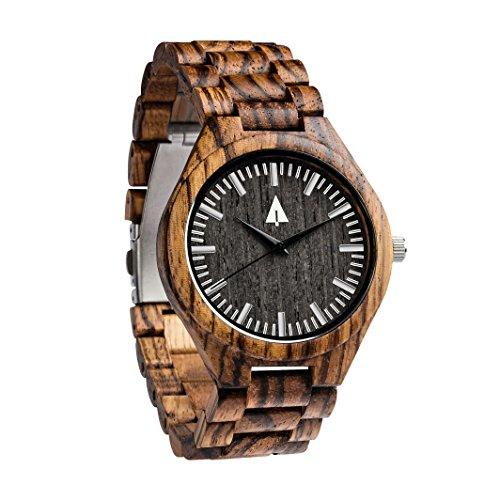 Treehut Men'S Zebrawood Wooden