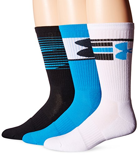 under-armour-mens-phenom-crew-socks-3-pack-electric-blue-assorted-large
