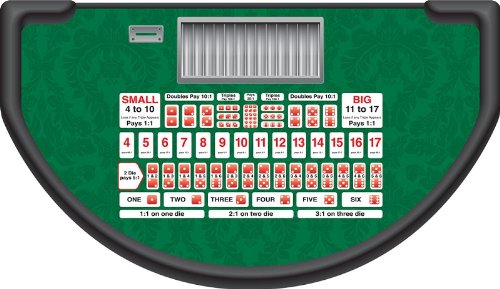Sic Bo Professional Size Casino Quality Layout (Felt) by CCS