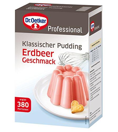Dr. Oetker Pudding Erdbeer-Geschmack 2.5 kg, 1er Pack (1 x 2.5 kg)