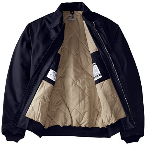 06e3f14d76c good Carhartt Men s Big   Tall Flame Resistant Duck Bomber Jacket ...