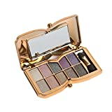 Usstore 1PCS Eyeshadow 10 Colors Shimmer Makeup Cosmetic (B)