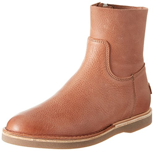 Shabbies Stiefelette Mit Reisverschluß, Women's Bootees Brown (Brick Brown)