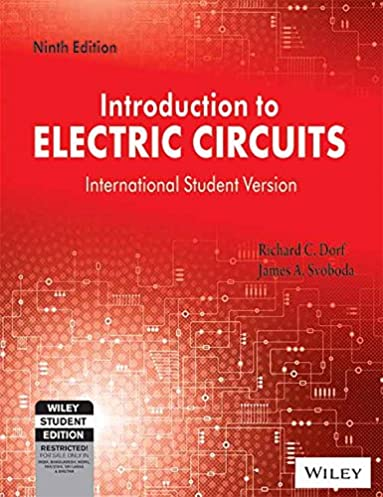 amazon com introduction to electric circuits isv (3244555199919introduction to electric circuits isv 9th edition