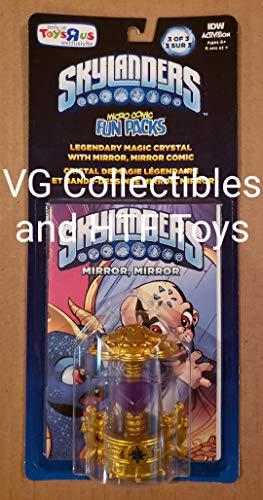 SKYLANDERS IMAGINATORS 전설적인 마법 창조 크리스탈과 독점 마이크로 만화 재미 팩 3   3