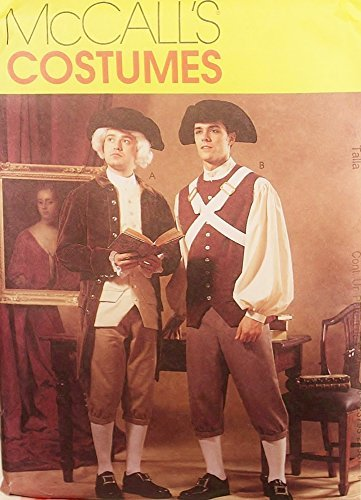 46 Costumes (1999, OOP McCalls Historical Costume Pattern 2258. Mens Szs 44,46,48 American Revolution Era Costumes)