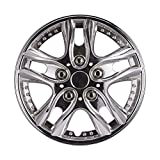 rim cover 14 - 14 Inch Performance Wheel Cover Car Vehicle Chrome Wheel Rim Skin Cover 14'' Hubcap Wheel cover (Pack of 4)