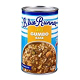 Blue Runner-Creole Seafood Gumbo Base-25 Ounce Can (Pack of 6)-A Rich, Flavorful and Authentic Creole Classic-An Instant Meal, Just Add Meat