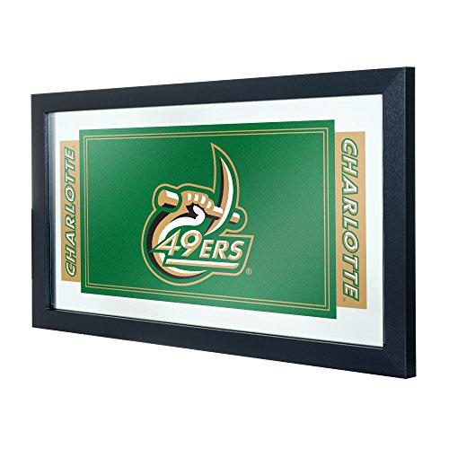 Trademark Gameroom NCAA University of North Carolina Charlotte Framed Logo Mirror by Trademark Gameroom