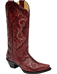 CORRAL Womens Embroidered Cowgirl Boot Snip Toe - E1006