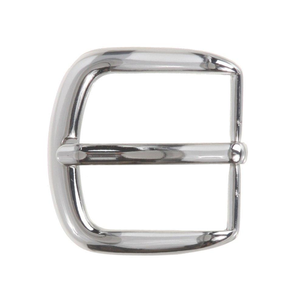 MONIQUE Men Zinc Alloy Nickel Free Single Prong Horseshoe 35mm Belt Buckle