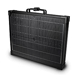 Nature Power 55701 40W Portable Monocrystalline Solar Panel for 12V Charging in Briefcase Design