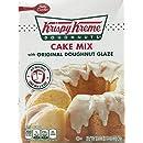Krispy Kreme Doughnuts, Cake Mix with Original Doughnut Glaze, 16.3oz Box (Pack of 3)