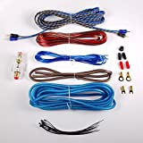 Gravity BGR-KIT8Bi 8 Gauge Amplifier Installation Kit with High Performance RCA and Speaker Wire
