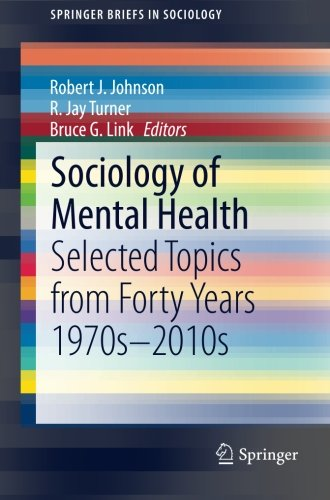 Sociology of Mental Health: Selected Topics from Forty Years 1970s-2010s (SpringerBriefs in Sociology)
