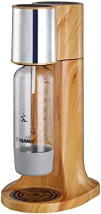Wooden Sparkling Water Maker, Soda Drink Carbonated Water Machine, Fully-for Home/Office/Party