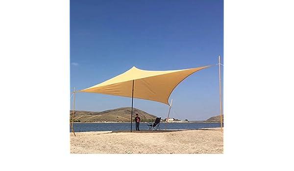 ... 48 cm x 30, 48 cm x 30, 48 cm exterior triángulo toldo vela para jardín patio césped balcón estanque barbacoa color arena: Amazon.es: Jardín