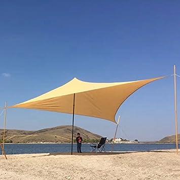 Parasol Zenda UV Block Sun Sail toldo patio toldo tela 30,48 cm x 30