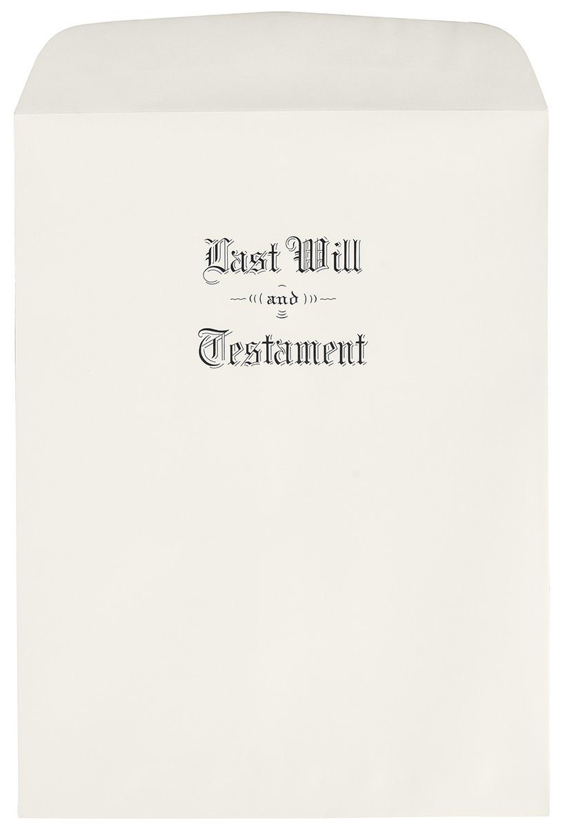 Oversized Last Will & Testament Envelopes