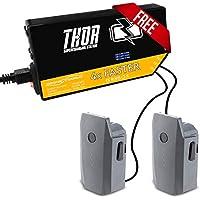 2 DJI Mavic Pro Intelligent Flight Batteries w/Free Thor Super-Charging Station