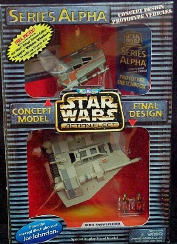 Star Wars Micro Machines Action Fleet Series Alpha Rebel Snowspeeder
