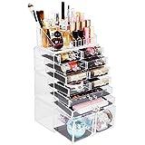 Biutee Jewelry Chest Acrylic Makeup Organizer Large
