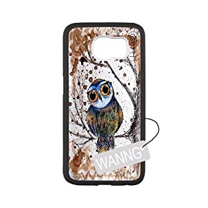 Eagle Samsung Galaxy S6 Cell Phone Case, Eagle Custom Case for Samsung Galaxy S6 at WANNG