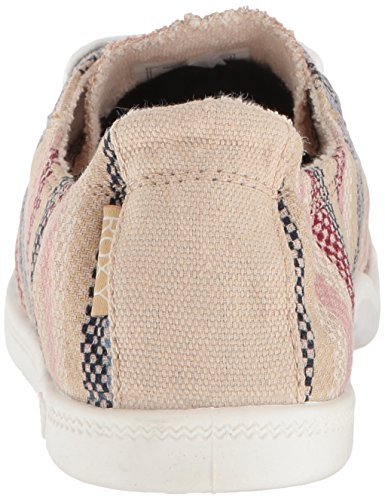 on Roxy Multi Sneaker Women's Slip Bayshore Shoe qrxwArYt8
