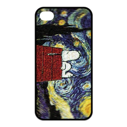 Fayruz- 5S Cases, Snoopy TPU Rubber iPhone 5 / 5S Hard Cover Case B-i5W343