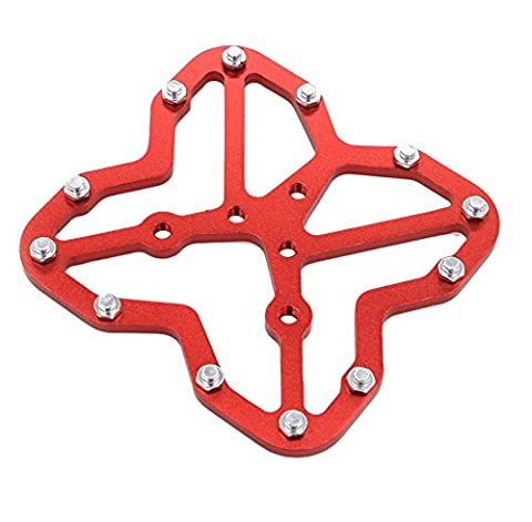 Universal Clipless to Platform Adapters, iParaAiluRy (Neon Pink Track Spikes)