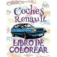 Coches Renault ✎ Libro de Colorear Carros Colorear Niños 7 Años ✍ Libro de Colorear