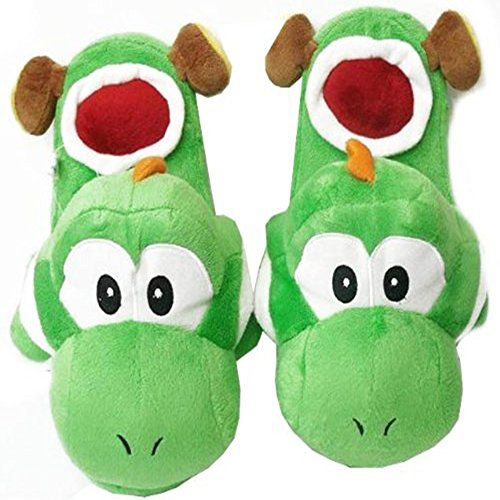 Super Mario Brothers : Yoshi Slippers (Green)]()