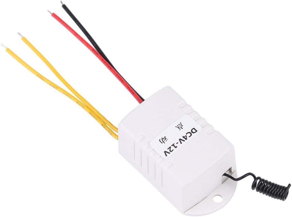 Trasmettitore DC 4V 5V 6V 7.4V 9V 12V Rel/è wireless Telecomando Ricevitore a chiave Rel/è Switch