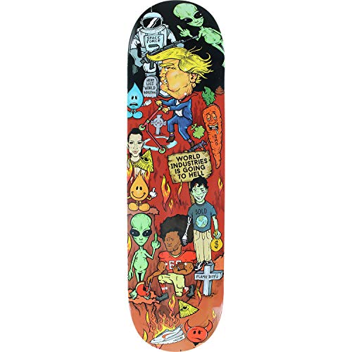 World Industries Skateboard Deck Worst Deck Ever 8.3