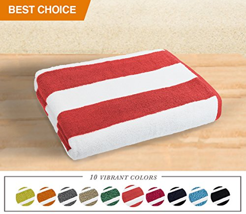 Luxor Linens- Large Beach & Pool Towel - 40