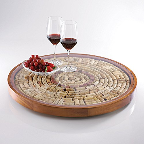 Wine Enthusiast Wine Cork Lazy Susan Kit by Wine Enthusiast