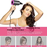 Hair Dryer, MANLI Professional Salon 1800W Negative Ionic Hair Blow Dryer Fast Drying with 3 Heat Settings, 2 Speed & One Cool Settings, AC Motor with Diffuser, 2 Concentrator Nozzles