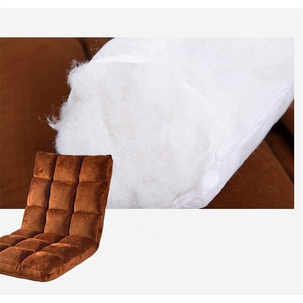 HLR Golvstol meditationsstol vikbar liten lat soffa enkel bäddsoffa, fönster för fritid, justerbar golvstol (färg: Grön) Brun