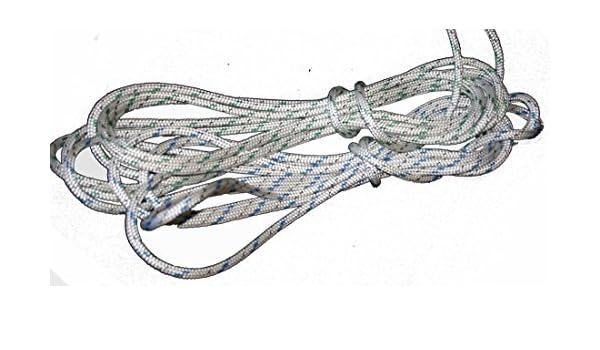46 ' LASER MAINSHEET NON TWIST ROPE NAUTOS LRXDM-LITE 6.5MM