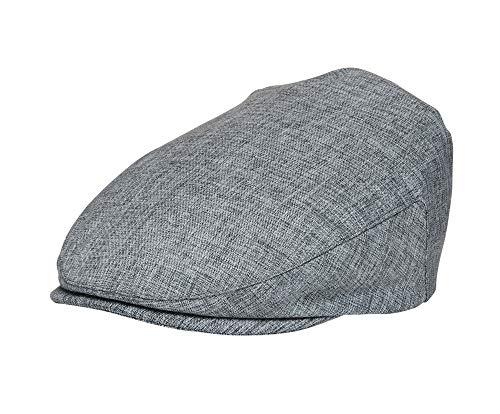 Born to Love - Baby Boy's Hat Vintage Driver Caps (8 Colors) (XXL 58cm, Gray Set)