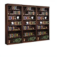Kathy Ireland Home by Martin Furniture Huntington Oxford Wall Bookcase