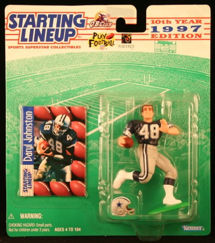 DARYL JOHNSTON / DALLAS COWBOYS 1997 NFL Starting Lineup Act