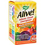 Nature's Way Alive Multi-Vitamin – 60 Tablets – Whole Food Enegizer – Max Potency – For Sale