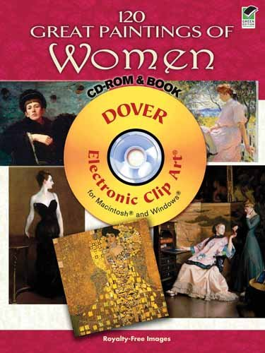 120 Great Paintings of Women CD-ROM and Book (Dover Electronic Clip Art) - 51TdVRuPPBL - 120 Great Paintings of Women CD-ROM and Book (Dover Electronic Clip Art)