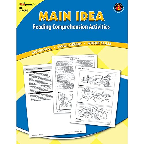 Main Idea Comprehension Book - Main Idea Comprehension Book