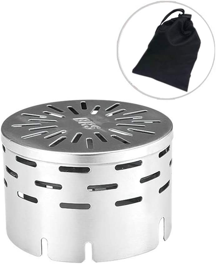 BRS-24 Portable Camping Picnic Gas Heater Infrared Heating Cover Warmer Stove Windproof Cover Heater Tent Gas Stove Heater