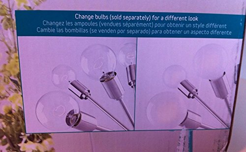 Space Age Mod Sputnik Hanging Pendant Lamp Fixture w/ 18 Bulbs; 3 Foot Diameter - - Amazon.com