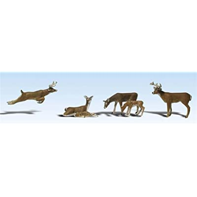 Woodland Scenics A2738 Deer O WOOU2738: Toys & Games