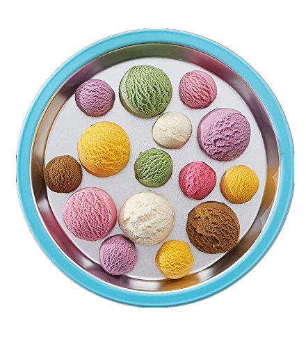 GIOCOSO Non Electricity Popsicles Machine Maker Juice&Fruit&Sandwich Popsicles/children's Ice Lolly Maker (Blue)