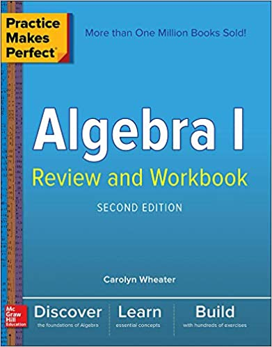Practice Makes Perfect Algebra Book